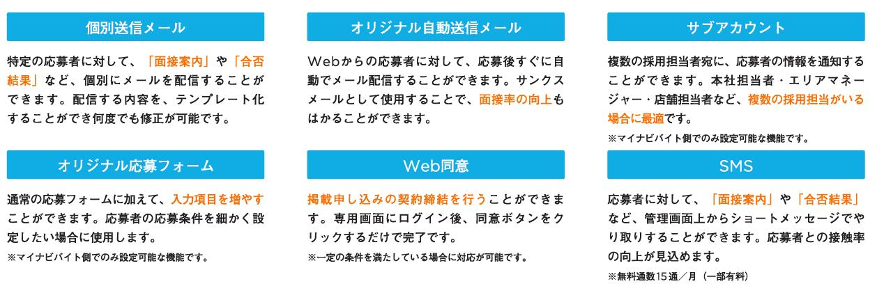 マイナビバイト_企業様専用管理画面02